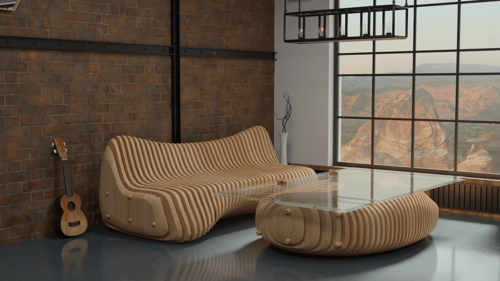 параметрическая мебель-1